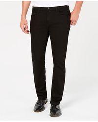 Tommy Hilfiger Tommy Jeans Straight-fit Stretch Jeans - Black