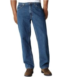 Levi's Big And Tall 550 Relaxed-fit Jeans - Blue