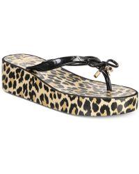 Kate Spade - Rhett Wedge Sandals - Lyst