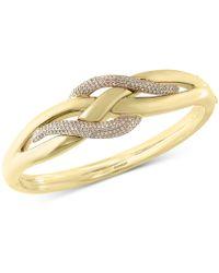 Effy Collection - Diamond Electro Bangle Bracelet (9/10 Ct. T.w.) In 14k White Gold - Lyst