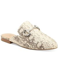 INC International Concepts Gilia Bit Mule Loafers, Created For Macy's - Natural