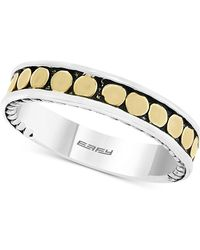 Effy Collection - Effy® Two-tone Band In Sterling Silver & 18k Gold-plated Sterling Silver - Lyst