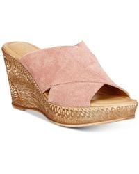 Bella Vita - Edi-italy Wedge Sandals - Lyst
