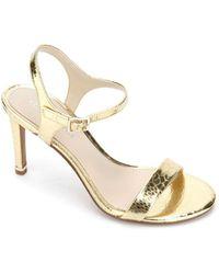 Kenneth Cole Brandy 85 High Heel Dress Sandals - Metallic