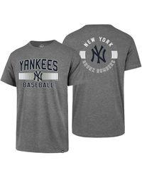 f6a672a0 New York Yankees Rival Slugger T-shirt - Gray