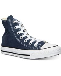 9584d36be45c Lyst - Converse Women s Chuck Taylor High Rise Boots From Finish ...