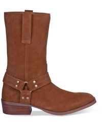 Dingo Buster Harness Boot - Brown