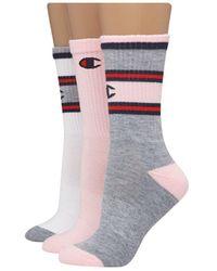 Champion 3-pk. Crew Socks - Multicolour