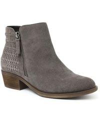 Kensie Granger Ankle Booties - Grey