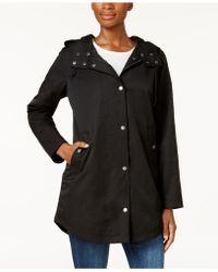 Style & Co. - Hooded Anorak Jacket - Lyst