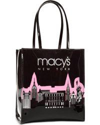 Macy's Glitter Lunch Bag - Pink
