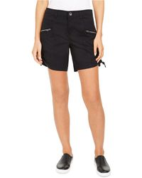 Style & Co. Zip-pocket Cargo Shorts, Created For Macy's - Black