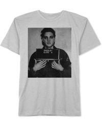 Jem - Men's Elvis Presley Mugshot Graphic-print T-shirt - Lyst