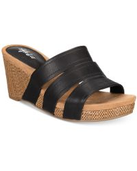 Style & Co. - Women's Juliaa Slide-on Wedges - Lyst