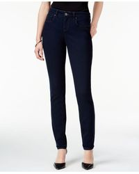 Style & Co. Curvy-fit Skinny Jeans - Blue