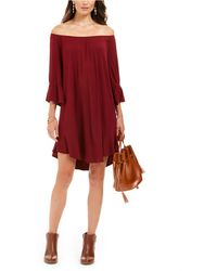 Style & Co. - Off-the-shoulder Ruffled Dress, Created For Macy's - Lyst
