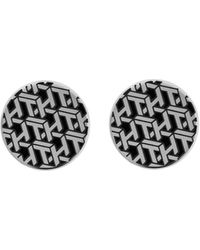 Tommy Hilfiger Stainless Steel Cuff Link - Metallic
