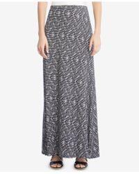 Karen Kane | Printed Maxi Skirt | Lyst