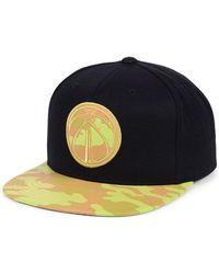Mitchell & Ness - Washington Wizards Natural Camo Snapback Cap - Lyst