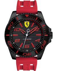 Ferrari - Men's Xx Kers Red Silicone Strap Watch 50mm 830308 - Lyst