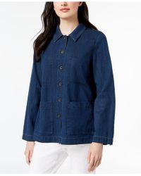Eileen Fisher Denim Jacket - Blue