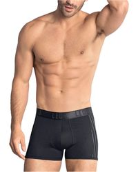 Leo Flex-fit Boxer Brief - Black