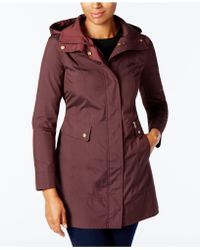 Cole Haan - Packable Raincoat - Lyst
