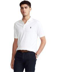 Polo Ralph Lauren Custom Slim Soft Cotton Polo Shirt - White