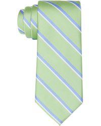Tommy Hilfiger Classic Bold Stripe Tie - Green