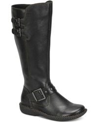 b.ø.c. - Oliver Wide Calf Riding Boots - Lyst