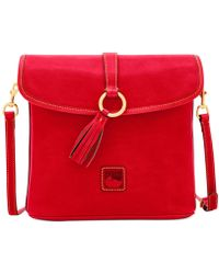 Dooney & Bourke Florentine Large Dottie Crossbody - Red