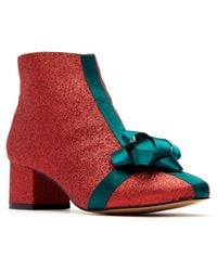 Katy Perry Gifter Booties - Red