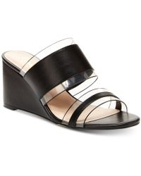 Nanette Lepore - Nanette By Isabel Wedge Sandals, Created For Macy's - Lyst