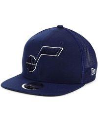 the best attitude 24ef9 ebbe2 KTZ Utah Jazz City Series 2.0 9fifty Snapback Cap in Red for Men - Lyst