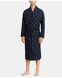 Polo Ralph Lauren - All Over Polo Player Robe - Lyst