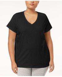 Hue | Plus Size V-neck Pajama Top | Lyst