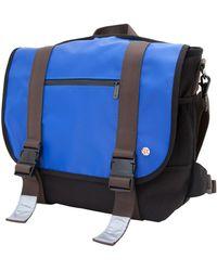 Token Lorimer Matte Vinyl Medium Messenger Bag - Blue