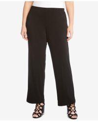Karen Kane - Plus Size Pull-on Trousers - Lyst