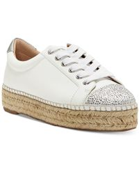 INC International Concepts - Eliza Platform Espadrille Trainers, Created For Macy's - Lyst