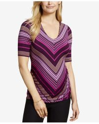Jessica Simpson - Maternity Ruched T-shirt - Lyst
