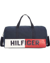 Lyst - Tommy Hilfiger Connor Weekender Bag in Blue for Men 1f692c9b762af