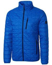Cutter & Buck Big & Tall Rainier Jacket - Blue