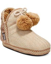 Muk Luks | Women's Amira Boot Slippers | Lyst