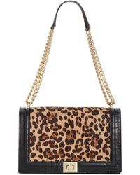 INC International Concepts Inc Ajae Leopard Flap Crossbody, Created For Macy's - Multicolor