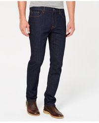 Tommy Hilfiger Tommy Jeans Straight-fit Stretch Jeans - Blue