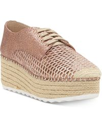 INC International Concepts - Abrelia Espadrille Platform Sneakers, Created For Macy's - Lyst