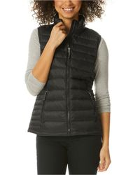 32 Degrees Packable Down Puffer Vest, Created For Macy's - Black