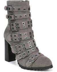 Fergie Juliette Suede Boots - Grey