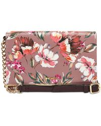 Nine West Floral Meadows Wallet On A String - Multicolour