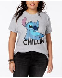 Disney - Plus Size Stitch Graphic T-shirt - Lyst